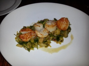 Seared Day Boat Scallops
