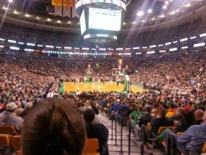 Celtics Game at TD Garden