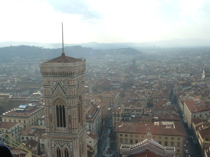 The view of Firenze (Florence) from the Duomo